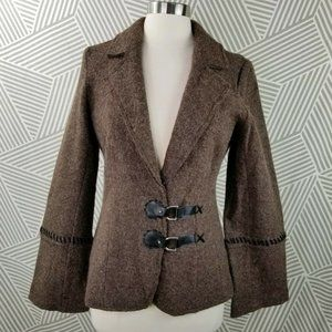 Valerie Bertinelli size Medium Wool Sweater jacket